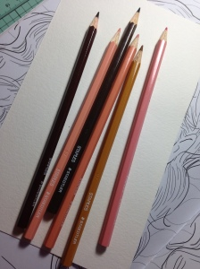 Staples branded Staedtler pencils